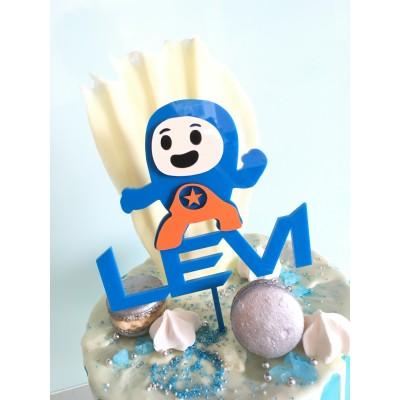 3D Go Jetters Cake Topper