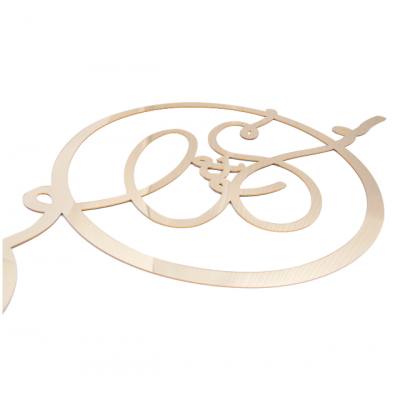 Large Acrylic Monograms